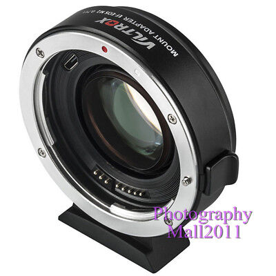 Viltrox EF-EOS M2 II AF Lens Adapter for Canon EF Lens to Canon EOS-M50 M3 M6 M2 3