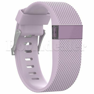 Replacement Silicone Wrist Strap Bracelet For Fitbit Charge HR Activity Tracker 7