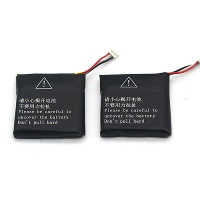 2pcs A Pack 430mAH Rechargeable Battery for Finow Smart Watch Q1 Battery Replace
