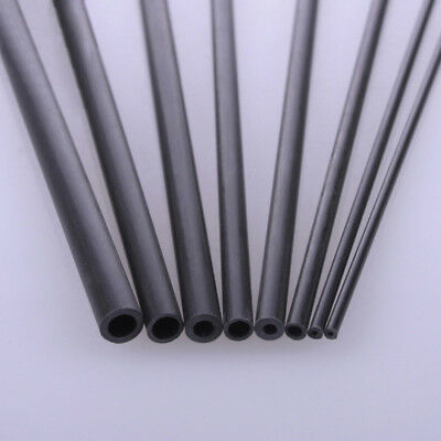 Carbon Fiber Tube & Rods Round For RC Airplane 1.8mm 2mm 3mm 6mm You Pick Sizes 6
