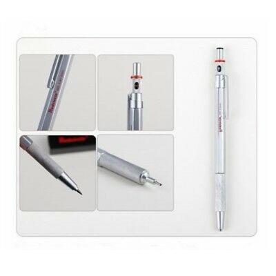 2.0mm 0.9/1.0mm 0.7mm 0.5mm Drafting Metal Mechanical Pencil For Drawing 1pc 5