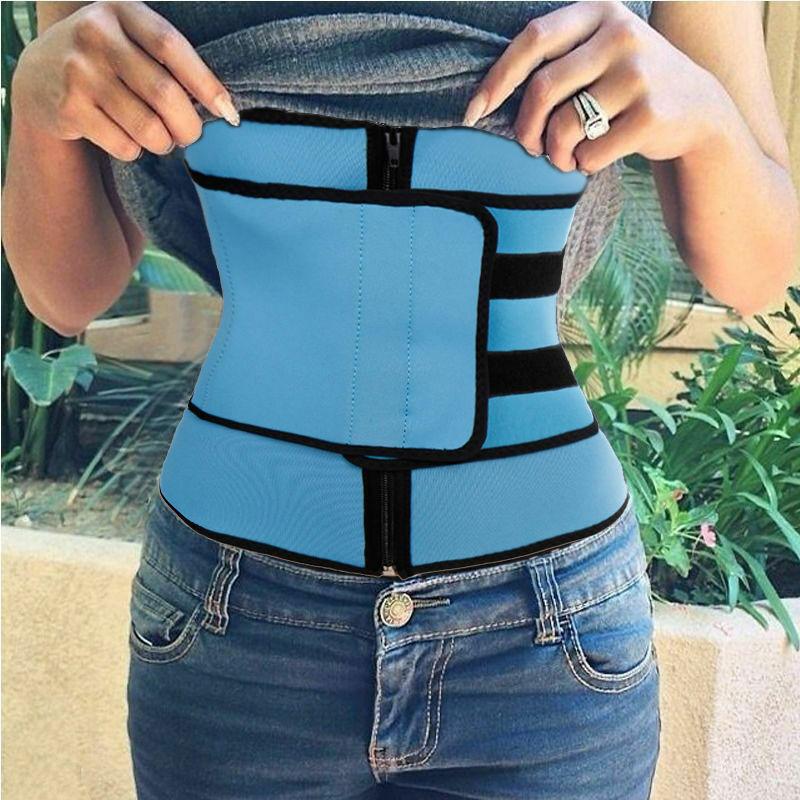 Waist Trainer Cincher Tummy Control Body Shaper Corset Slimming Belt Sport Wrap 6