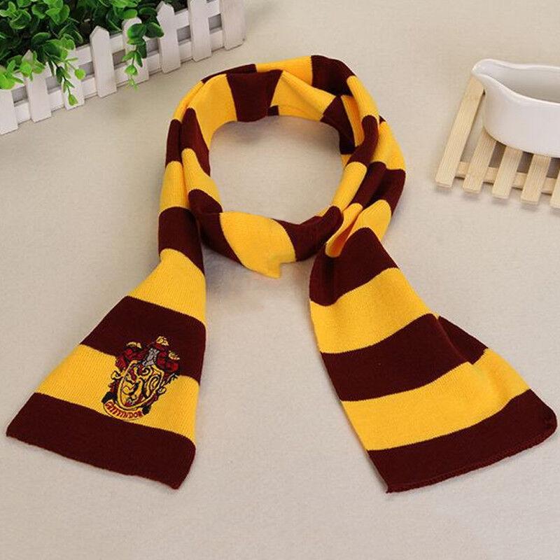 Harry Potter Adults Kids Cloak Robe Cape Scarf Tie Fancy Dress Cosplay Costume 9