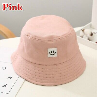 Unisex Foldable Smile Bucket Hat Outdoor Sunscreen Cap Smile Face Fisherman Hats 9