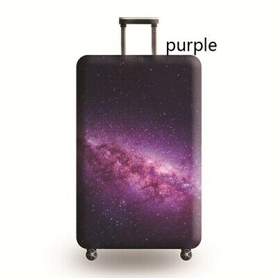 Travel Luggage Cover Galaxy Starry Elastic Anti-Scratch Suitcase Dust Protector 11