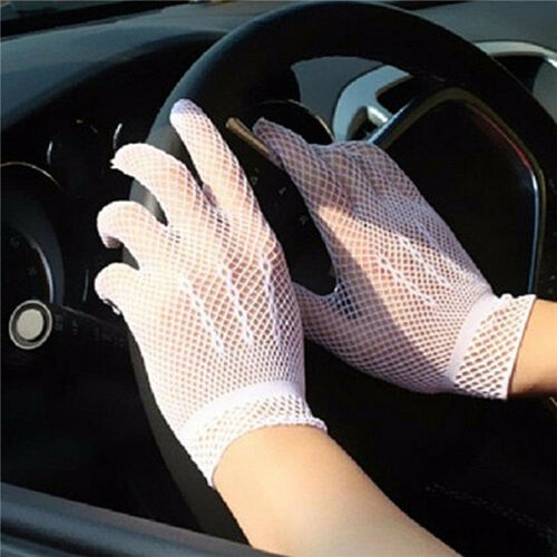 Hot Sexy Women's Girls' Bridal Evening Wedding Party Prom Driving Lace GloveJGUS 6