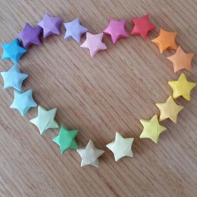 240pcs Origami Lucky Star tiras de papel cintas de papel plegables colores GK 4
