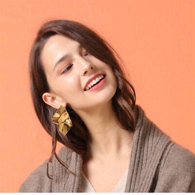 1 Pair Women Multi Style Circle Large Big Linked Hoop Dangle Long Earrings Studs 8