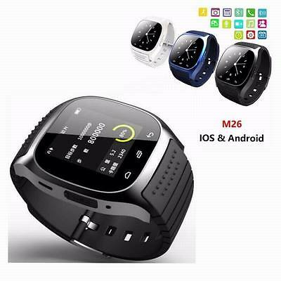 Mate Wrist Waterproof Bluetooth Smart Watch For Android HTC Samsung iPhone iOS 3