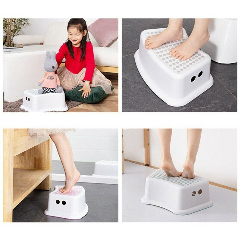 Non-Slip Strong Utility Foot Stool Bathroom Kitchen Kids Children Step Up SALE 2