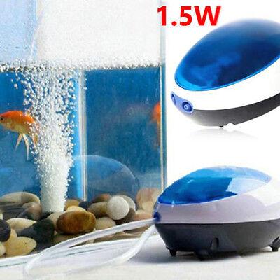 Super Silencieux efficace puissante énergie Aquarium Poisson oxygène POMPE À AIR