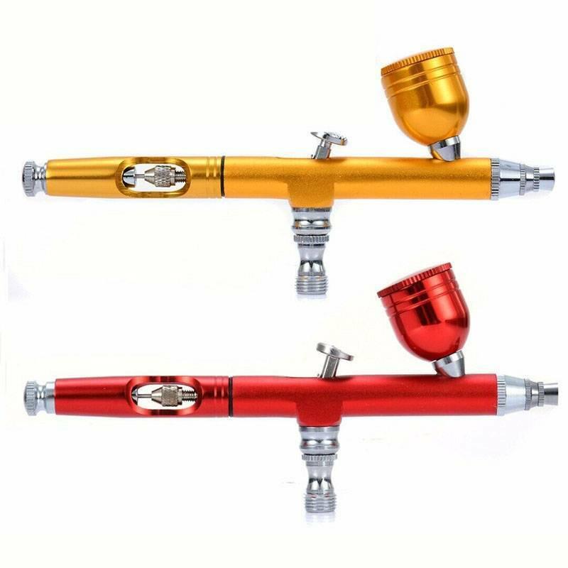 BT-180K 134K Airbrush Kit Dual Action Needle Spray Gun 9cc Paint Art Tattoo Tool