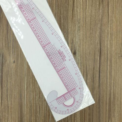 Kurvenschablonen Kurven Schablone Kurven-Lineal für Armloch Armkugel Schulter