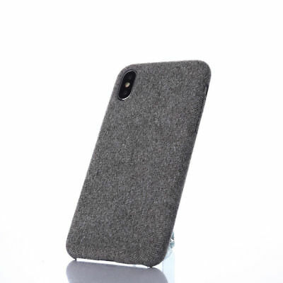 For iPhone XS Max XR X 6s 7 8 Plus Warm Fabric Soft Shockproof Matte Cover Case 6