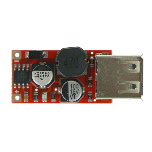 9V 12V 24V a 5V 3A CAR Cargador USB Módulo DC reductor convertidor KY 2