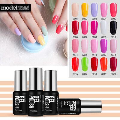 Modelones 10ML 166 Colors Nail Art Gel Polish Soak-off UV/LED Manicure Varnish