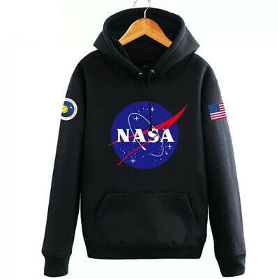 Hommes Sweat à capuche Nasa Space Pull-over Amoureux Manteau Pull Sweat-shirt 3