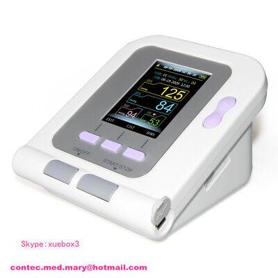 CONTEC08A-VET Digital Blood Pressure Monitor,Veterinary/Animal NIBP+SPO2 Probe 5