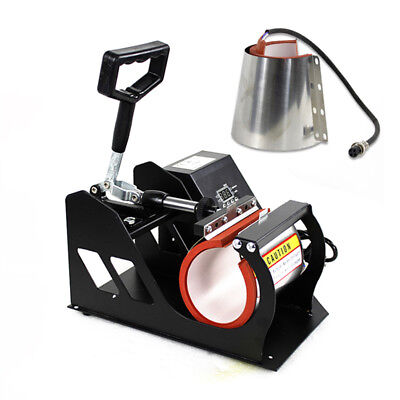 2in1 Station Mug Cup Heat Press Machine Sublimation For 11OZ 12OZ 5