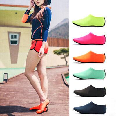 Unisex Barefoot Water Skin Shoes Aqua Socks for Beach Swim Surf Yoga Exercise GE 2