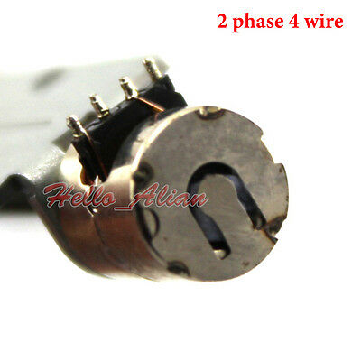 DC5V 2 Phase 4 Wire Miniature 8mm Stepper Motor Mini Stepping Motor Linear Screw 4