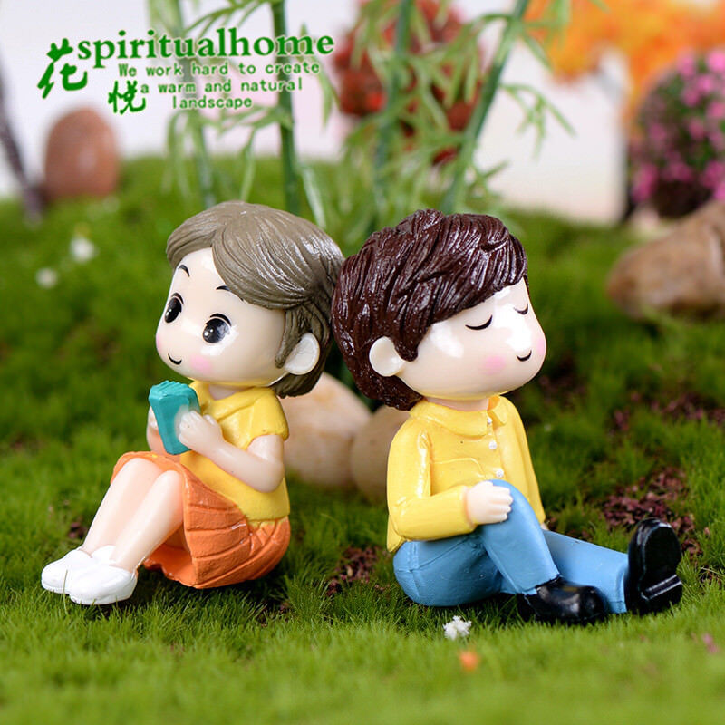 Miniature Fairy Garden Ornament Decor Pot DIY Craft Accessories Dollhouse 2