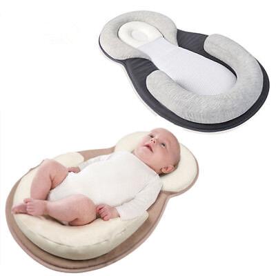 Portable Baby Infant Pillow Sleep Cushion Pad Newborn Crib Nest Bed Mattress GW 2