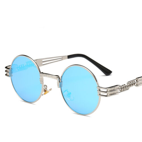 8a24b025bb93 2019 Round Classic Luxury Sunglasses Circle Steampunk Hip Hop Vtg Migos  Quavo US 7 7 of 12 ...