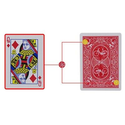 New Secret Marked Poker Cards See Through Playing Cards Magic Toys Magic Tricks 2