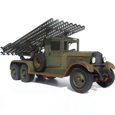 BM-13 KATYUSHA SOVIET WWII Multiple Rocket Launcher Truck Model Kits scale  1:35