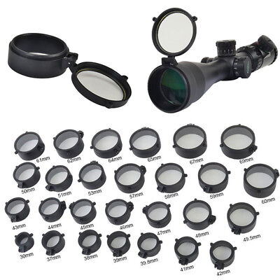 Quick Flip Riflescope Rifle Scope Protect Objective Cap Lens Covers for Caliber 2