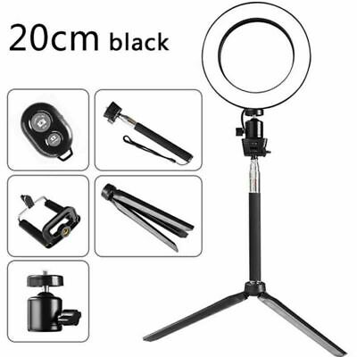 LED Ring Light Dimmable 5500K Lamp Photography Camera Photo Studio Phone Video 3