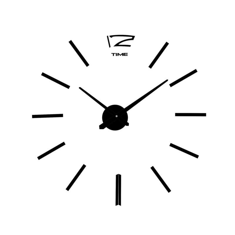 Large Silent Quartz Wall Clock Movement DIY Hands Black Mechanism Repair Tool 2