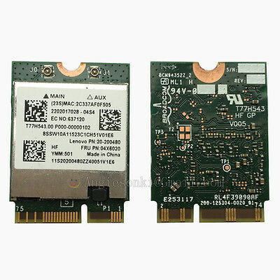 LENOVO YOGA 3 PRO/2 13/710/Y50-70/Touch 04X6020 BCM94352Z AC WIFI  CARD+BT4 0 Mac