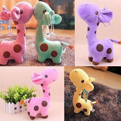 Cute Giraffe Soft Plush Toy Animal Dear Doll Baby Kid Children Birthday Gift New