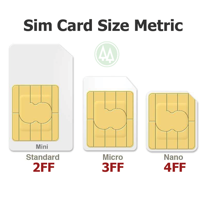 VERIZON NANO SIM Card 4FF • CDMA 4GLTE • NEW Genuine OEM •  Prepaid or Postpaid 3
