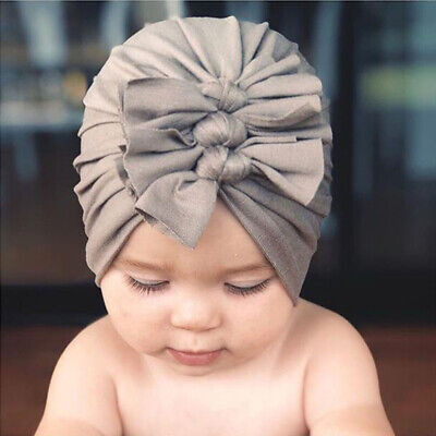 New Baby Headbands Turban Knotted Girl's Hair Bands for Newborn Children Cotton 7
