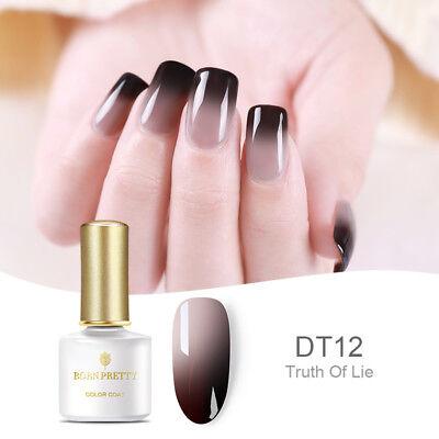 BORN PRETTY 6ml Thermal Color-Changing UV Gel Nail Polish Soak Off BP-12 Varnish 2