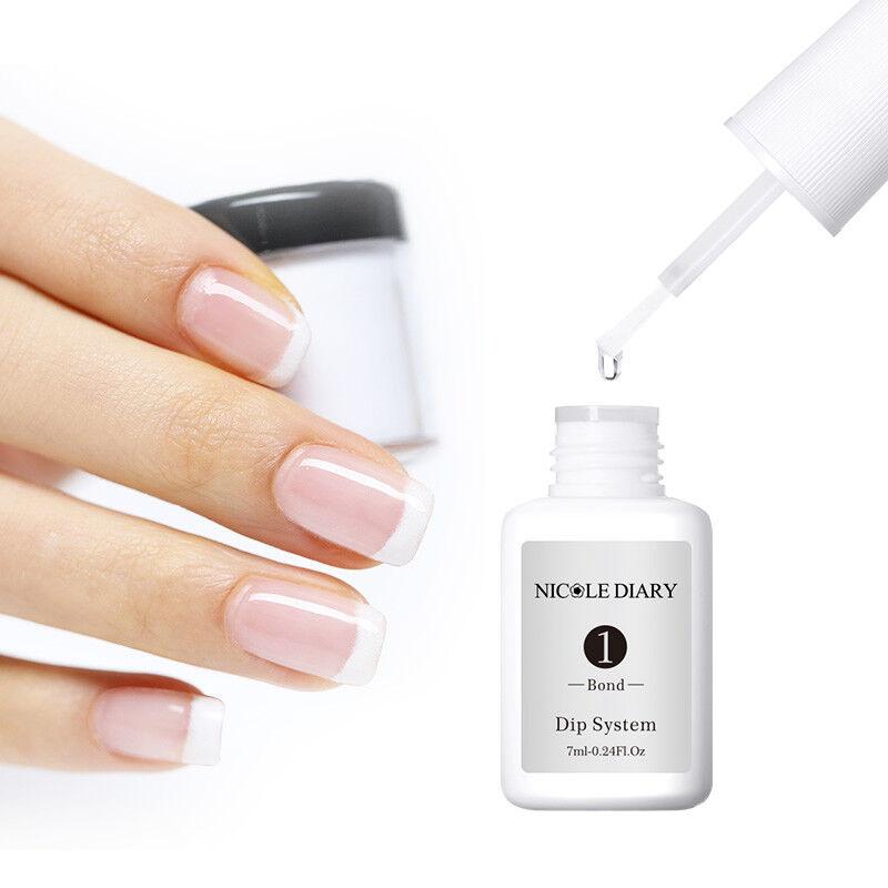 7ml NICOLE DIARY Dipping Powder System Liquid No UV Lamp Needed Nail Art Pro Kit 7