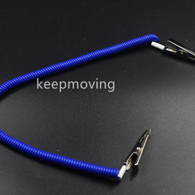 20 Pcs Dental Patient Bib Clips Chains Napkin Holder Flexible Coil Plastic 10
