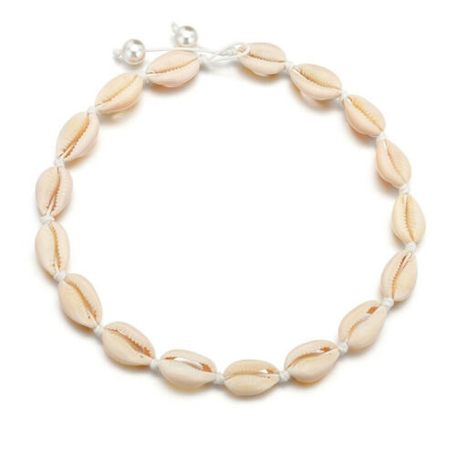 Natural Cowrie Sea Shell Choker Necklace Boho Surfer Beach Tribal Puka Jewelry 2