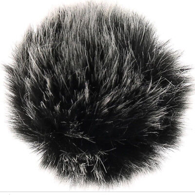 Universal Furry Outdoor Microphone Windshield Wind Muff Lavalier Lapel Mic RODE 2