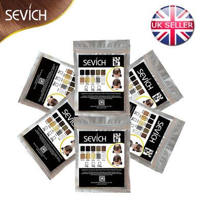 Sevich Hair Fibers Keratin Building Thickening 25 50 100g Refill Pack Fibre Loss 8