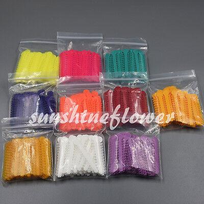 1 Bag Dental Orthodontic Ligature Ties Elastic Rubber Bands 45 Colors 1040 Pcs