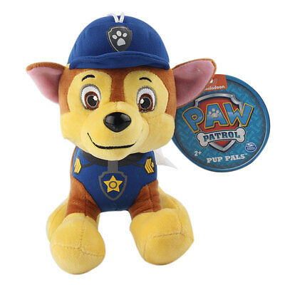 """Plush Pup Pals 8"""" Paw Patrol Skye/zuma Rocky Soft Toys Nickelodeon Dog Set Gift 3"""
