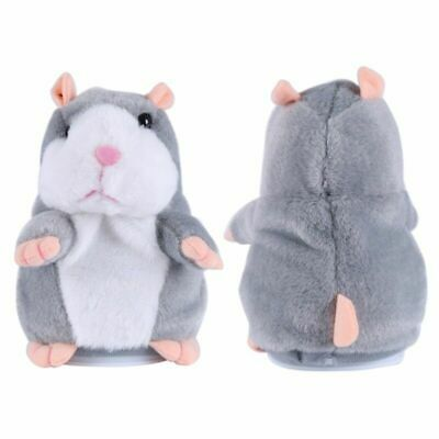 Talking Hamster Plush Toy Lovely Speaking Sound Record Repeat Kids Toy Cute Gift 12