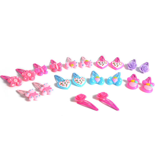 20 pcs/SET Mix Styles Assorted Baby Kids Girls HairPin Hair Clips Jewelry YK 6