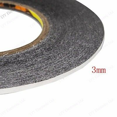 1mm 2mm 3mm black for 3M Sticker Double Sided Tape Adhesive cell phone repair 6
