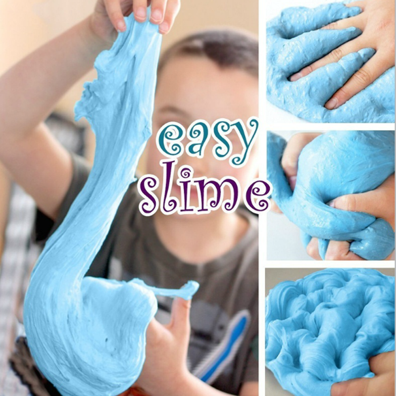 1pcs Kids Fluffy Floam Slime Putty Scented Stress Relief Clay Children Toys 4