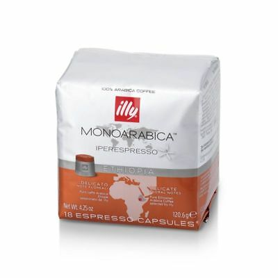162 capsule caffe illy a scelta TUTTE tostature o Monoarabica Capsules 9 cans 8